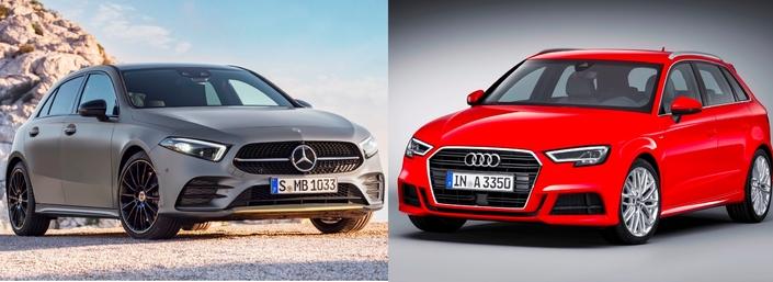 Les matchs du Salon de Genève 2018 - Nouvelle Mercedes Classe A vs Audi A3